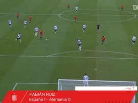 VÍDEO: Fabián y Dani Olmo llevan a España Sub 21 al cetro europeo. Captura/Dugout