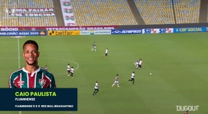 Caio Paulista showed off some lovely skills in Fluminense's draw with Bragantino. DUGOUT