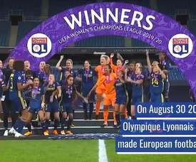 7th Champions League win for the side. DUGOUT