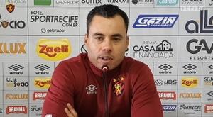 Jair Ventura falou após a derrota do Sport. DUGOUT