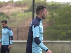 Manchester City faz primeiro treino em Lisboa para decisão contra o Lyon. DUGOUT