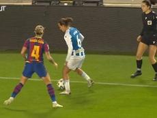 Las azulgranas golearon 5-0 al Espanyol en el derbi. DUGOUT