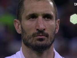 La Juve vince contro il Milan. Dugout