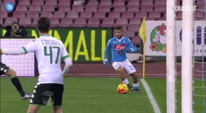 Napoli have scored some brilliant goals versus Sassuolo. DUGOUT