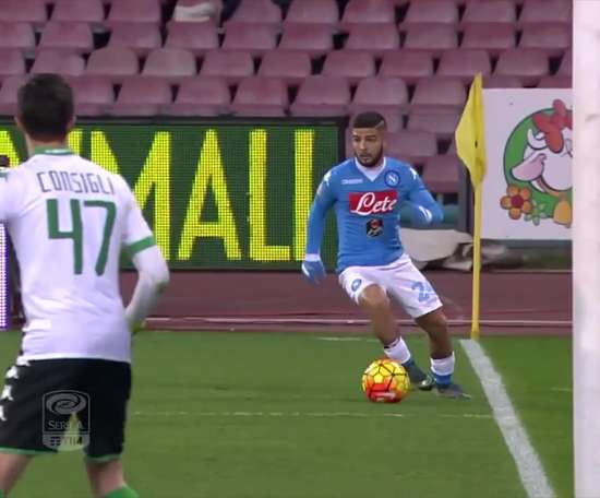 Napoli have scored some brilliant goals versus Sassuolo. DUGOUT