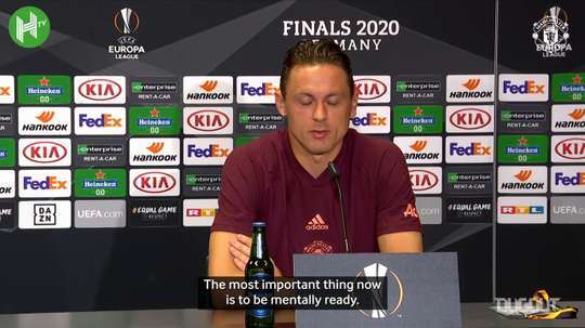 Matic spoke to the media after the match. DUGOUT