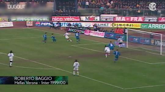 Le reti dell'Inter a Verona. Dugout