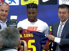VIDEO: Best moments of Alex Song at Barça. DUGOUT
