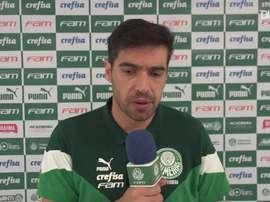 Abel Ferreira concedeu entrevista após derrota para o Flamengo. EFE/Octavio Passos/Arquivo