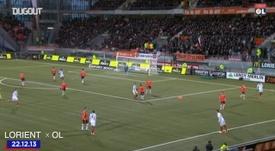 Les meilleurs buts de Lyon à Lorient. Dugout