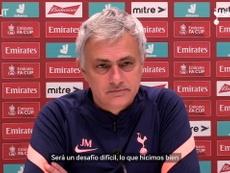 Mourinho pide más a sus pupilos para seguir en la FA Cup. DUGOUT