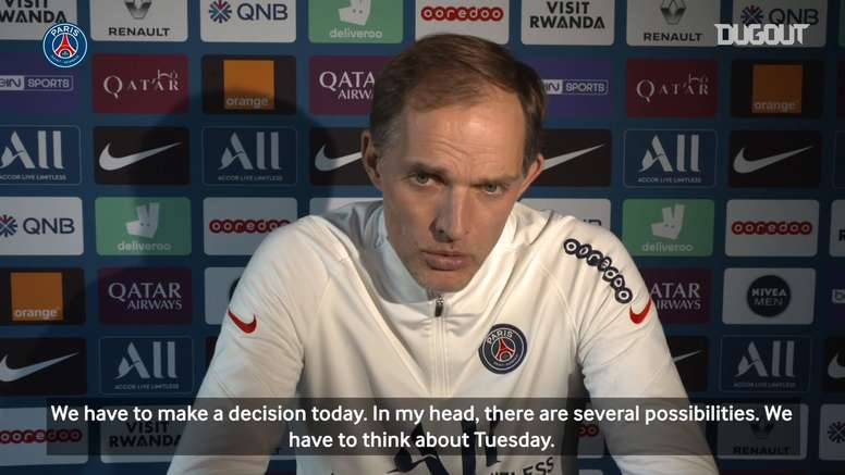 Thomas Tuchel: ' For Kylian, I'm very calm, he had a good game'. DUGOUT