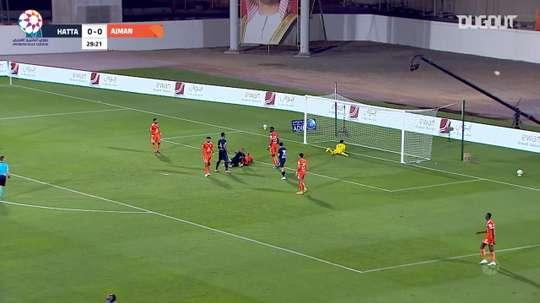 Highlights: Ajman 0-0 Hatta. DUGOUT