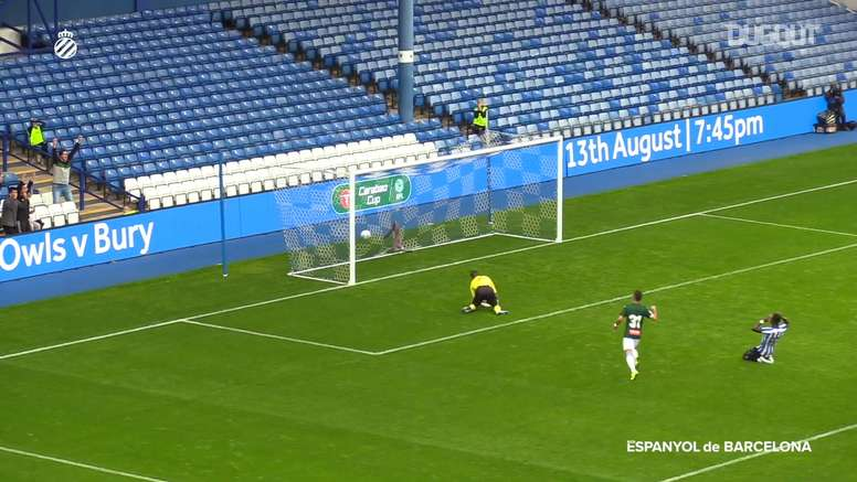 Wu Lei scored a cracker back in July 2019 at Sheffield Wednesday. DUGOUT