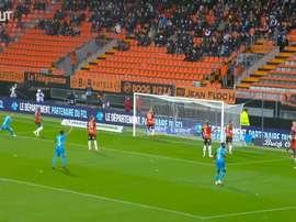 Le premier but de Balerdi avec Marseille. Dugout