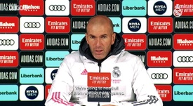 Zidane speaks ahead of the match. DUGOUT