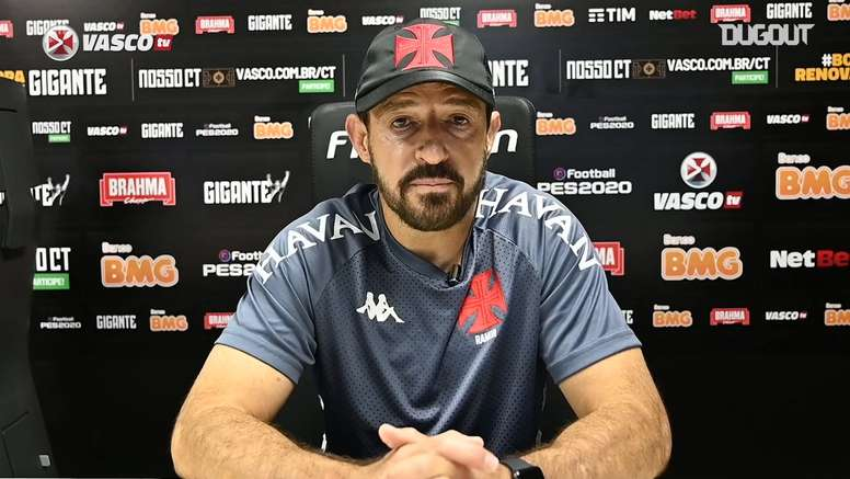 Técnico Ramon Menezes fala sobre reforços do Vasco. DUGOUT