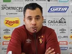Jair Ventura fala após a derrota do Sport. DUGOUT