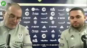Bielsa spoke about Guardiola. DUGOUT