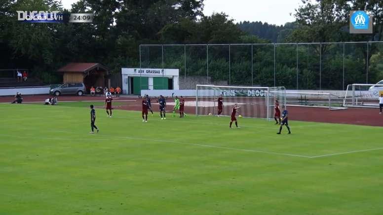 Marseille won 6-1. DUGOUT