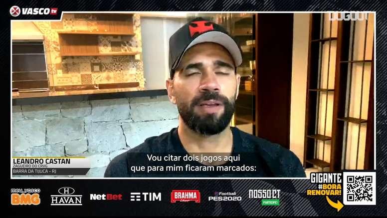 Leandro Castán comentou sobre a nova realidade do futebol brasileiro. DUGOUT