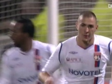 Benzema and Källström secure win vs Bordeaux in 2008. DUGOUT