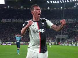 Mario Mandzukic viveu quatro temporadas na Juventus. DUGOUT