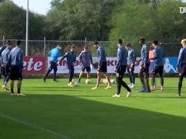 VIDÉO : le dernier entraînement de Naples avant Rijeka. Dugout