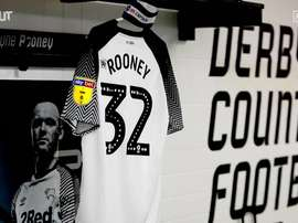 Wayne Rooney cautiva en el derby County. DUGOUT