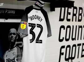 Wayne Rooney cautiva en el derby County. DUGOUT