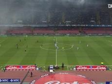 Napoli beat Genoa. DUGOUT