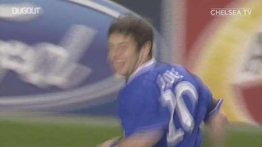 Chelsea beat Bayern Munich at Stamford Bridge back in 2005. DUGOUT