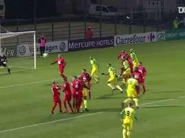 Les meilleurs buts de Rongier à Nantes. DUGOUT