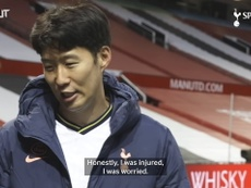 Heung-Min Son on Old Trafford victory and Kane partnership. DUGOUT