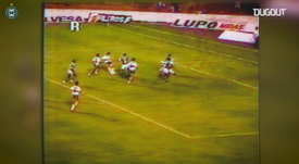 Así jugaba Kazu Miura en Coritiba. DUGOUT