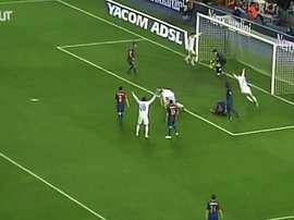 16 años de goles importantes de Ramos. EFE