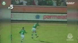 VIDÉO: Les meilleurs buts d'Alex avec Palmeiras. Dugout