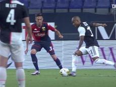 Costa scored as Juventus beat Genoa. DUGOUT