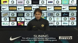 Antonio Conte has previewed Inter's game with Juventus. DUGOUT