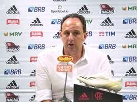 Rogério Ceni concedeu entrevista após vitória sobre o Palmeiras. EFE/Juan Ignacio Roncoroni/Arquivo