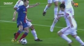 Les buts de Messi contre le Bayern Munich. Dugout