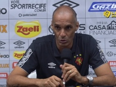 César Lucena analisa derrota do Sport para o Santos. DUGOUT