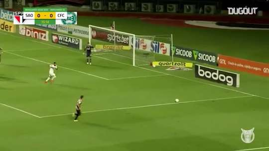 Sao Paulo took the lead, but had to settle for a point v Coritiba. DUGOUT