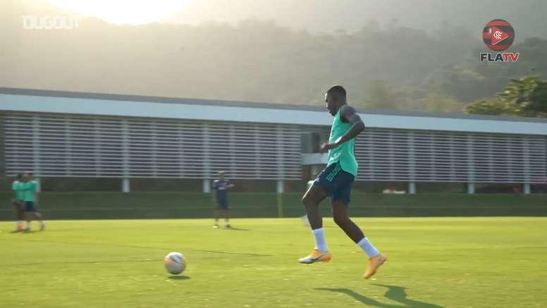 VÍDEO: así se prepara Flamengo para la Libertadores. DUGOUT
