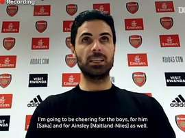 Arteta spoke post-match. DUGOUT