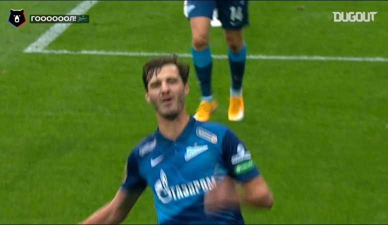 Best Goals of Week 1 in The Russian Premier League. DUGOUT