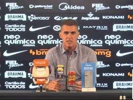 Técnico do Corinthians falou após vitória sobre o Sport. DUGOUT