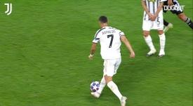 Ronaldo scored for Juventus. DUGOUT