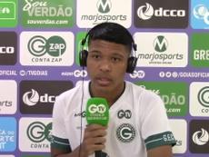 Vinícius Lopes comemora semanas cheias de treino no Goiás. DUGOUT