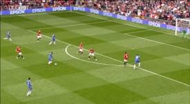 Mata scored against United. DUGOUT